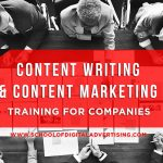 Content Marketing & Content Writing Training for Companies