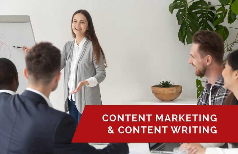 CONTENT WRITING & CONTENT MARKETING www.schoolofdigitaladvertising.com
