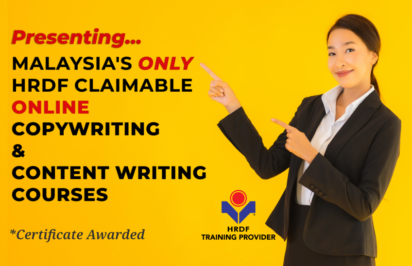 HRDF Claimable Online Copywriting Course Malaysia